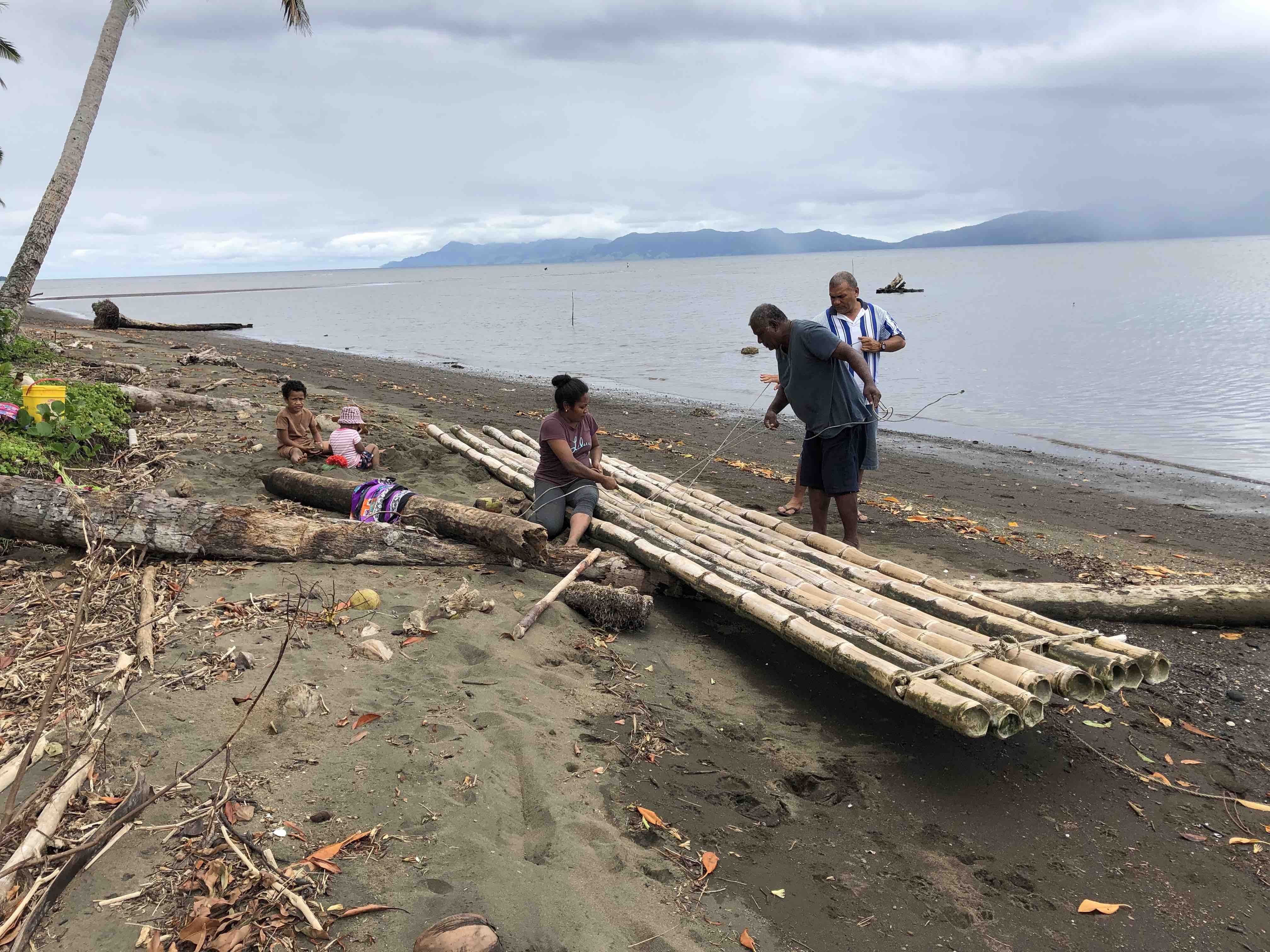 In Fiji, moving to higher ground – twice