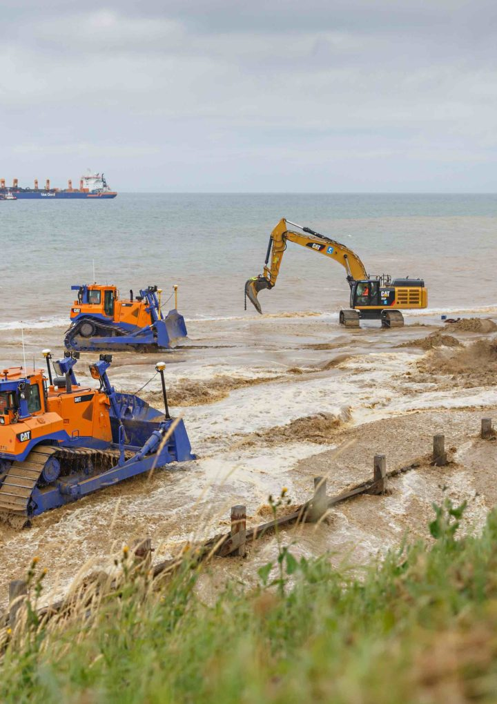 Best built on sand? English gas terminal gets coastal protection