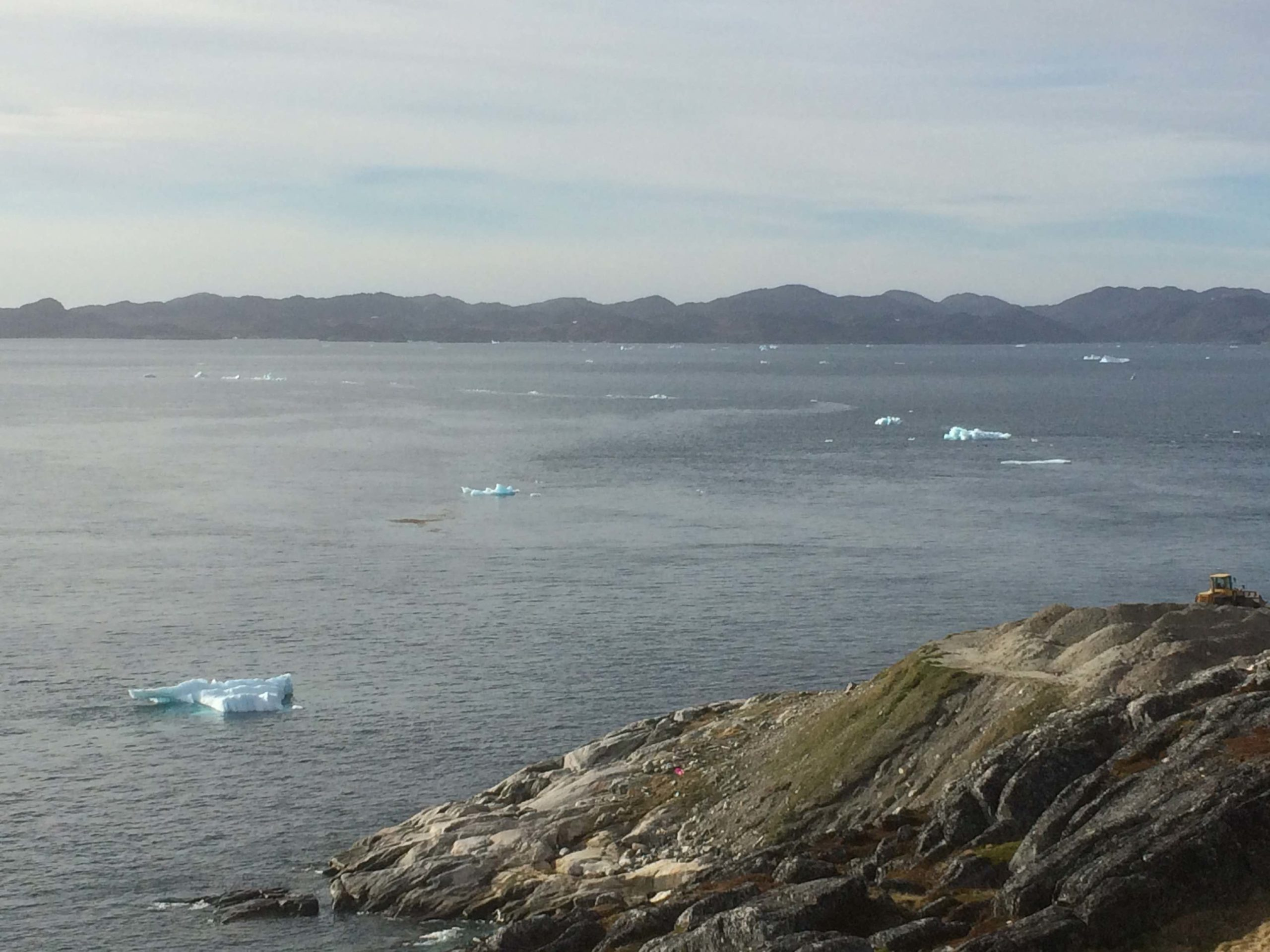 icebergs off Nuuk, Greenland