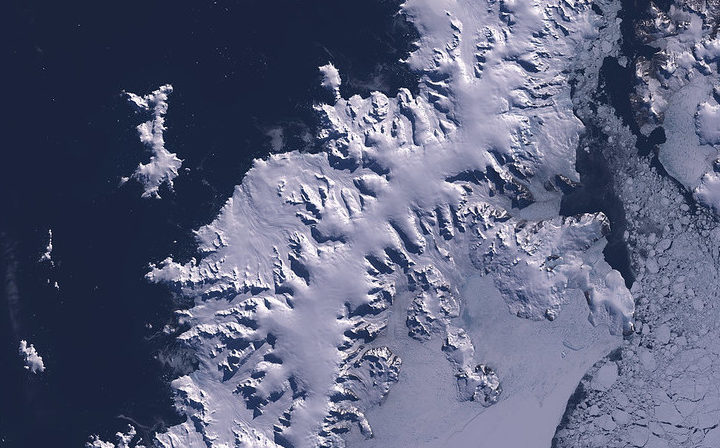 Antarctic glacier once retreated at breakneck 50 metres a day