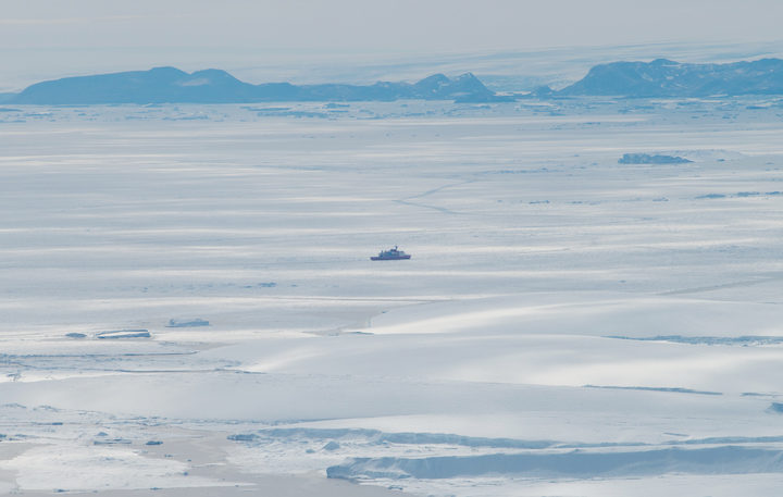 Unexpected melt 'hotspot' found in East Antarctica